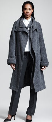 The Row Grey wrap coat 2990