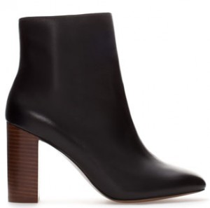 Zara Leather boot $119
