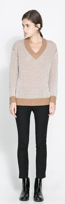 ara Camel Sweater, $39.90