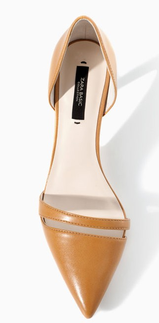 Zara Camel shoes 35.90