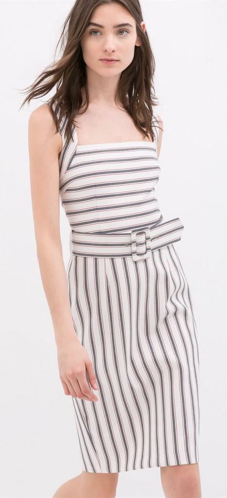 Zara Stripped dress $79.90