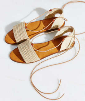 Urban OUtfitters jutte lace up sandal $69
