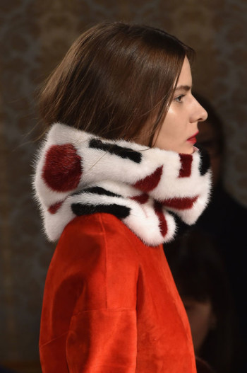 Fall 2015 Accessories CR Picks - Tod Fur Muffler