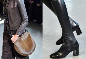 Fall 2015 Accessoris CR pciks - Calvin bag and boot