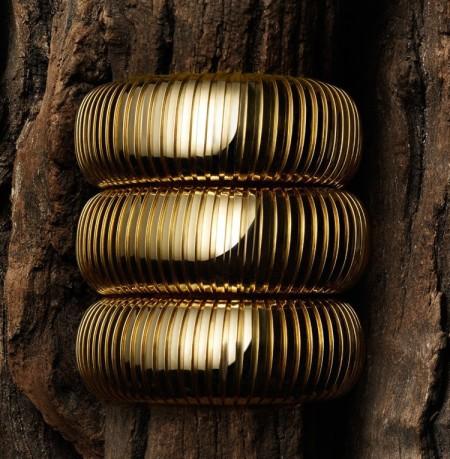 Sidney Garber Gold doed cuff 9,100
