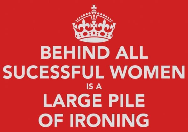 Ironing image