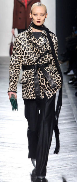 Fall 2016 Leopard Bottega Venetta
