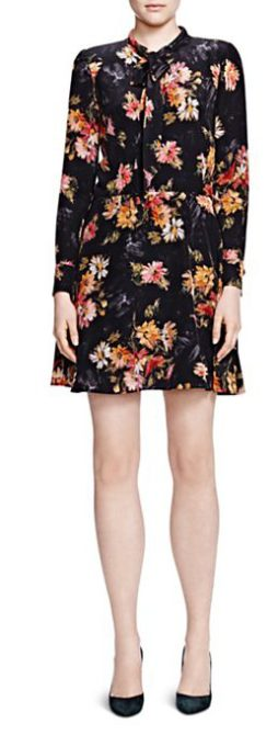 What to Wear This Thanksgiving kooples-fireworks-dress-385