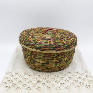 Multi-Color Straw Container