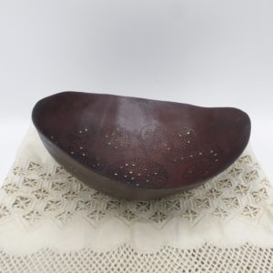 Laser Cut Brown Gourd Bowl