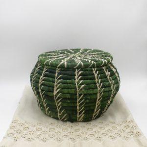 Banana Leaf Green Basket