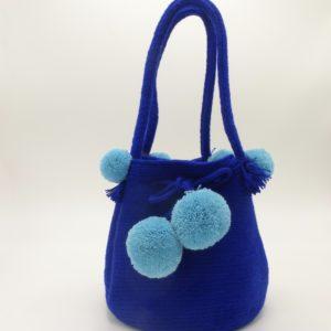 Mini Wayuu Mochila (Royal Blue)